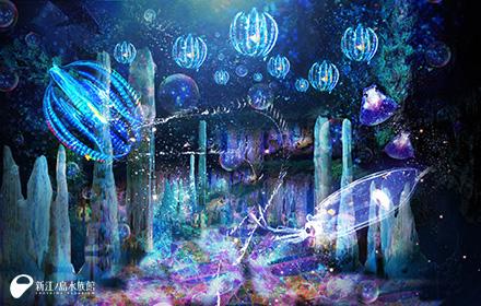世界初「水族館内3Dプロジェクションマッピング」で深海世界を疑似体験! 夏休みは新江ノ島水族館「ナイトアクアリウム」へ出かけよう♪