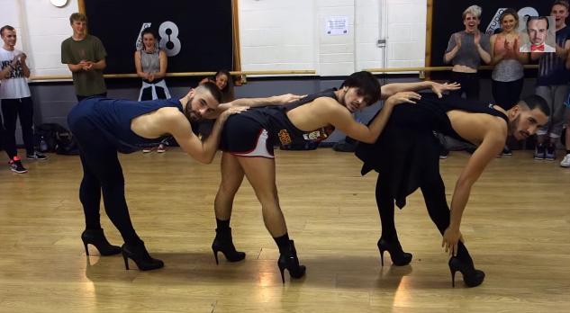 きゃあぁぁぁファンになっちゃいそう!ハイヒールで妖艶に踊りまくる「男性」ダンサー軍団を発見!
