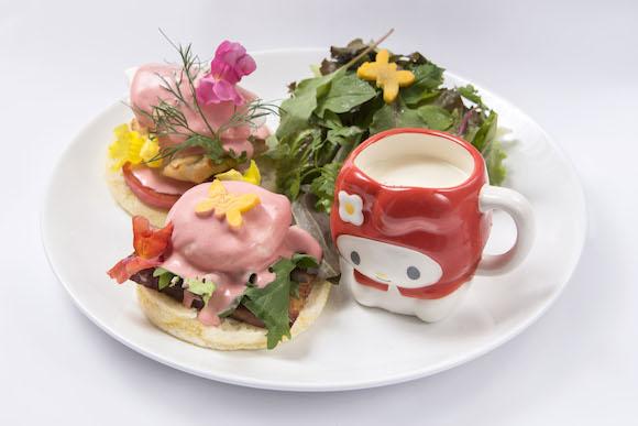 【期間限定】マイメロカフェが渋谷パルコにオープン、マイメロモチーフのエッグベネディクトやポップコーンパフェなど悶絶級の可愛さだよっ!