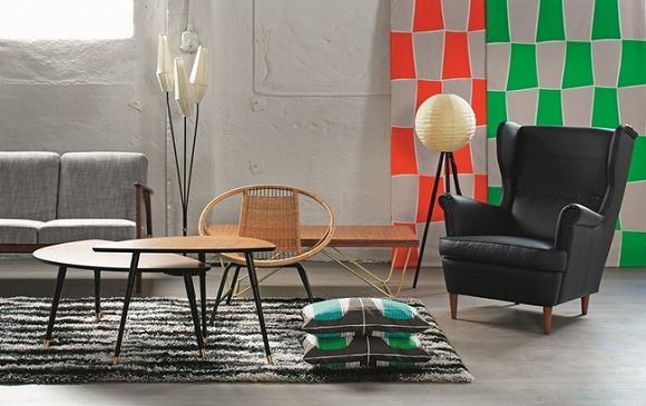 【期間限定】「IKEA」のヴィンテージコレクションがレトロかわいいのです♪ 50~70年代に販売されたリビングルーム家具が復刻されているよ!