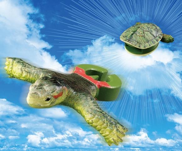 ま、まさか亀が亀をやめるなんて…ガシャポン「あいつ、亀やめるってよ」が衝撃的な件 / 亀が甲羅から勢いよく飛び出す前代未聞の仕様でござる