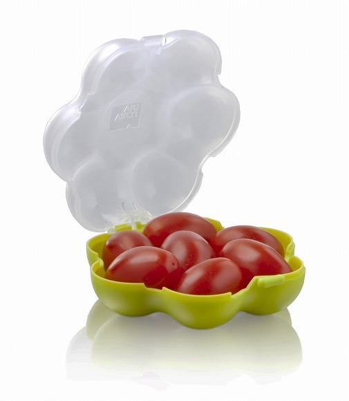 【お弁当女子必見】オランダ生まれのミニトマト専用ケース「トマトガード」が日本上陸 / ミニトマトをつぶさずに持ち歩けるなんてスゴイ!