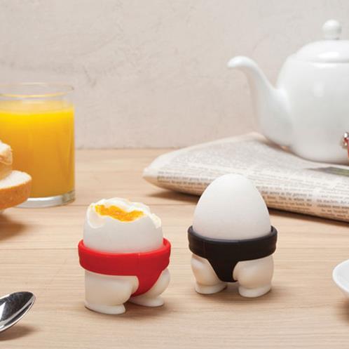たまごを食べるのが楽しみになるよっ♪ お相撲さんのまわしをモチーフにしたエッグスタンド