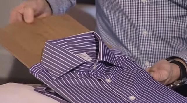 アレを使えばピシッとたためる! プロが教える「シャツの上手なたたみ方」