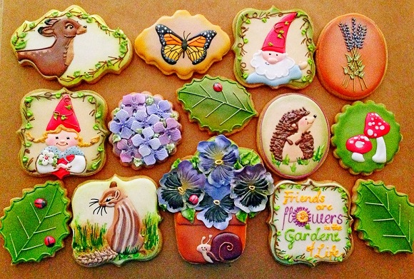 クオリティー高すぎッ‼ 目にも楽しいアートなアイシングクッキーはいかが?