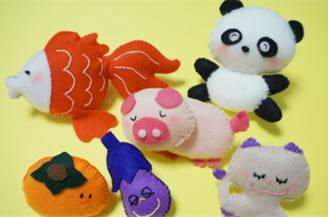 1980年代に大流行! 人形作家・大高輝美さんの「フェルトマスコット人形の作り方」が公開中なりよ!