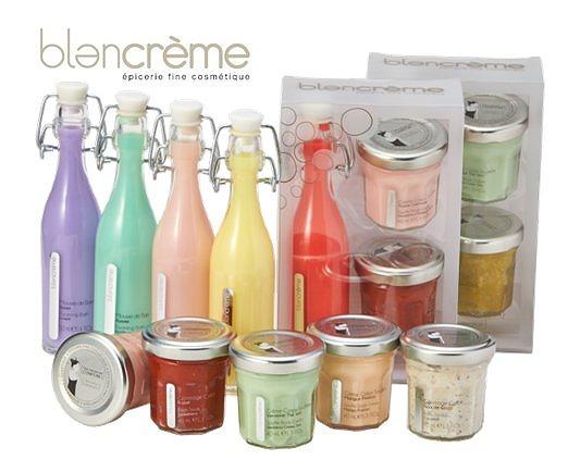 フランス生まれのボディケアアイテム「ブランクレーム」が日本初上陸 / ジャムみたいな容器とおいしそうな果実の香りが乙女心をくすぐります♪