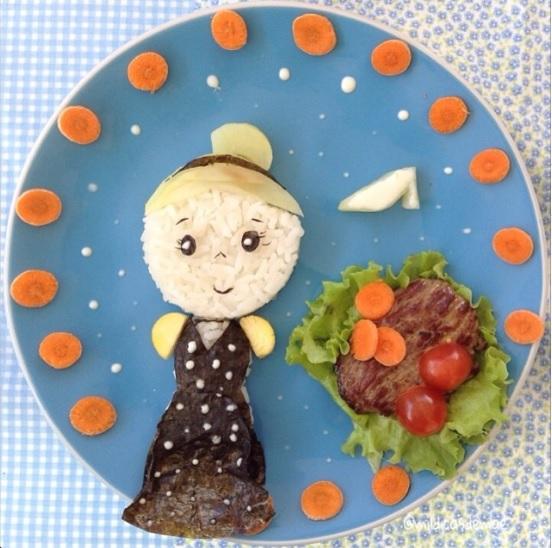 これはもう芸術! ブラジル人ママが娘のために作るひと皿料理がまるで童話の1ページのような可愛らしさ!!