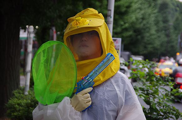 打倒デング熱ッ! 代々木公園の蚊を駆除すべく勝手に出動してきたっ!