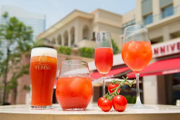 【期間限定】東京&神奈川のカフェで「トマトフェア」が開催されるよぉ~♪ テラス席でトマトカクテル&フードを楽しめるんだって!!