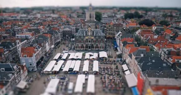 まるでおもちゃ箱! メルヘンな景色がかわいいオランダ3都市のタイムラプス映像