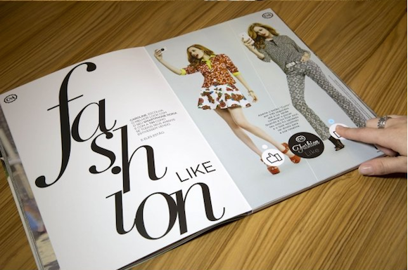 【未来の発明品みたい】「いいね!」が押せちゃうファッション雑誌
