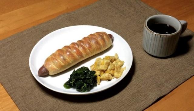 【芸術の秋】木彫りのソーセージパンが、本物より美味しそうなリアルさ!! 食欲が止まらないゾッ!
