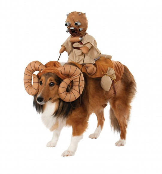 【ハロウィン】愛犬をあの「スターウォーズ」キャラへと変身させることができる着ぐるみ