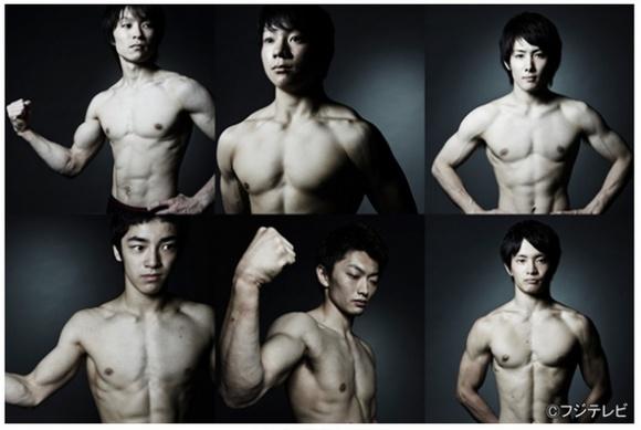 筋肉フェチ女子に朗報! 見よ、体操ニッポン男子代表選手たちの究極の肉体美をっ!!