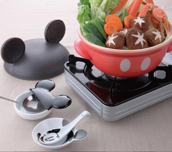【即買い】めちゃめちゃ可愛いくて実用的! ミッキーやミニーちゃんの土鍋