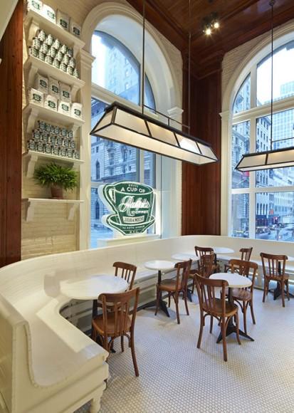 ラルフローレンがコーヒーショップをオープン!? クラシック・アメリカンな内装と窓から見えるNYの風景が素敵すぎるー!