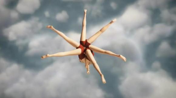 空中でシンクロナイズドスイミング!? 不思議な浮遊感がクセになる世にも美しきアニメーション作品「ダイバーズ」