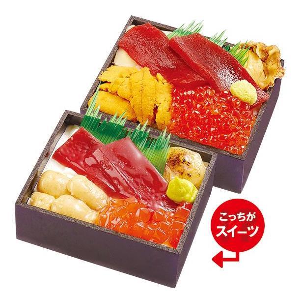 美味しそうな海鮮弁当&ステーキ弁当…と思いきや!? 東武池袋店で「お弁当そっくりスイーツ」が販売されているなり