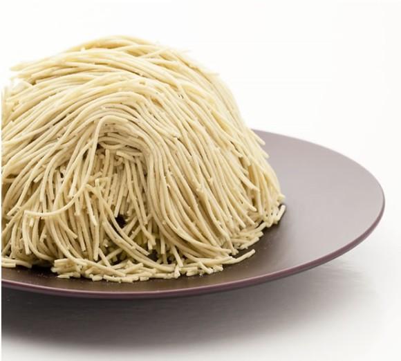 並んででも食べたいっ!! 長野県「小布施堂」のモンブラン「朱雀」のビジュアルがものすごいことになっていると話題騒然!
