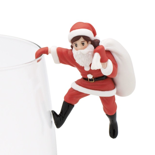 サンタ姿のフチ子に萌えキュン♪ 大人気カプセルトイ「コップのフチ子」シリーズにクリスマスバージョンが登場!