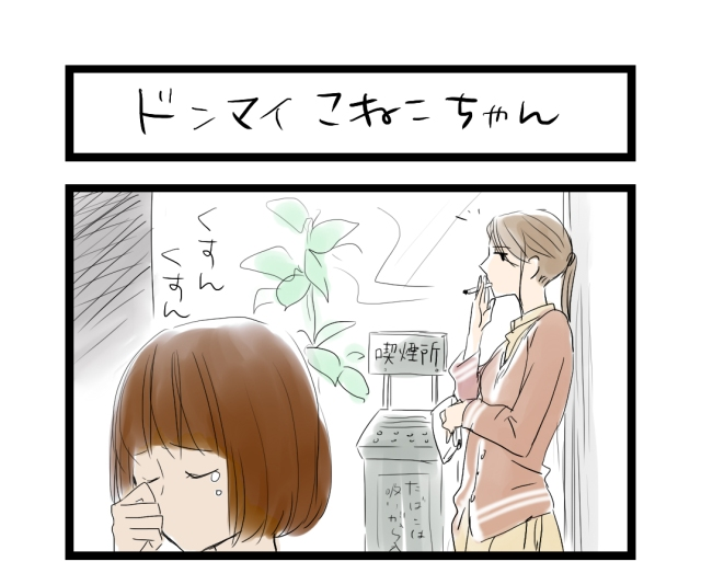 【夜の4コマ部屋】ドンマイこねこちゃん / サチコと神ねこ様 第13回 / wako先生