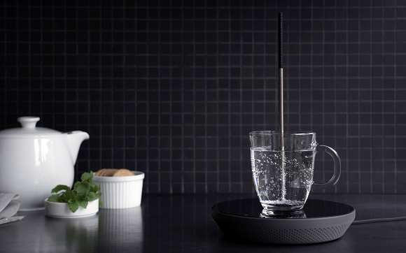 【北欧デザイン】ポットはもう必要ない!? スティックひとつで必要な分だけお湯を沸かせるキッチン家電が開発中!