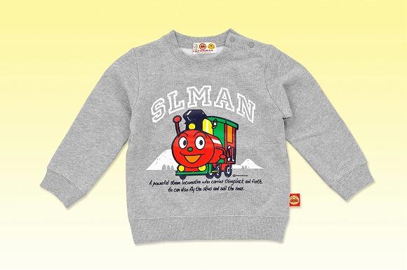 バンダイの「アンパンマンのトレーナー」企画がちょっと感動的 / 保育園児の「SLマンのおようふくはないの?」の言葉がきっかけ