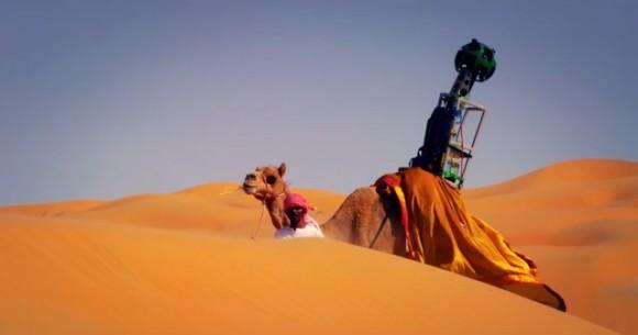 リワ砂漠をストリートビューに入れたいっ!! Googleがとった方法…ラクダの背中にカメラを搭載