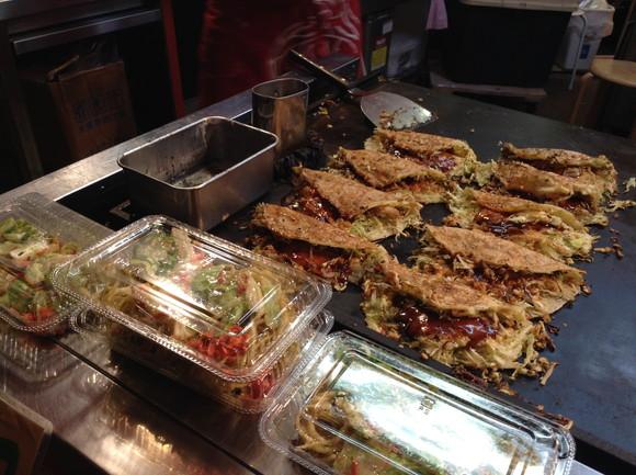 大阪で『キャベツ焼き』なるものを発見! 『はしまき』のルーツはコレらしい