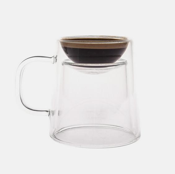 ひっくり返すだけ! 「エスプレッソ用」&「コーヒー用」どちらにも使える2WAYマグカップを発見