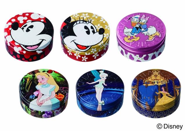 【数量限定発売】スチームクリームのディズニーキャラクターデザイン缶6個セットが可愛すぎて萌えキュンがとまらないッ!