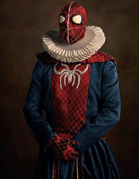 スパイダーマンにバットマン、ダースベイダー…あのスーパーヒーローたちがもし16世紀のフランスにいたとしたら