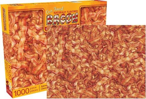 うげーっ、見てるだけで胸焼けしそう! 大量のベーコンが描かれた1000ピースのジグソーパズルがいろいろとヤバい