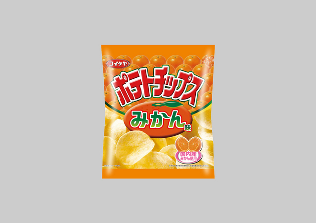 湖池屋が「ポテトチップス みかん味」を12月22日に新発売!/ ツイッターの声「うーんw」「おいしいのか?」