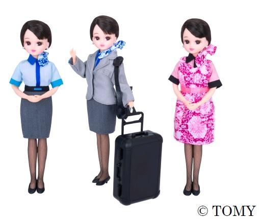 「ANAオリジナルCAリカちゃん」販売スタート! ANAキャビンアテンダントの新制服を颯爽と着こなしたリカちゃんがとってもカワイイよー♪