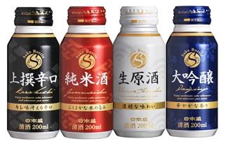 飲みたい分だけ飲める&持ち運びに便利! 「ファミマ」×「日本盛」共同開発のボトル缶日本酒が気になる