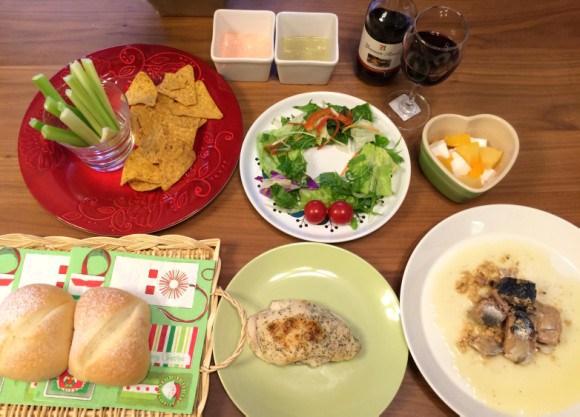 【ズボラ主婦のクリスマス】近所のコンビニで調達したものだけでどれだけ見栄えのするクリスマス料理が作れるか試してみた!