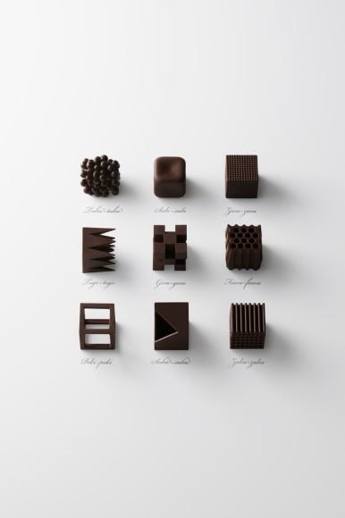 フワフワ、スカスカ、ポキポキ!? オノマトペ(擬声語)から発想したチョコレートが斬新!!