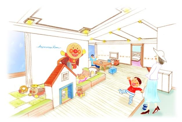 【1月31日OPEN】子供も大人も大満足♪ ホテルオークラ神戸に「アンパンマンスイートルーム」が登場!