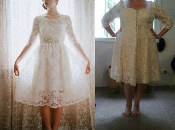 【思ってたんと違う】ウェディングドレスを通販したら写真とぜんぜん違う粗悪品が送られてきた花嫁たちの画像集