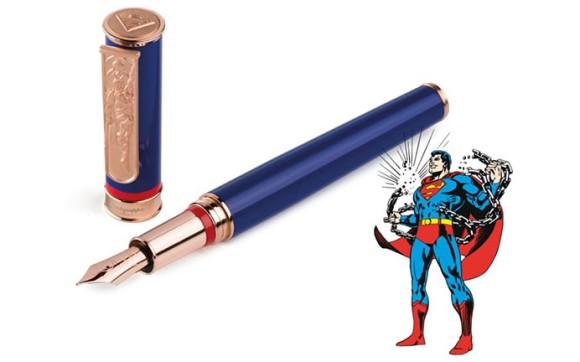 モンテグラッパとDCコミックスがコラボした万年筆が発売中! バットマンやスーパーマンのデザインが高級感あってかっこよすぎ!!