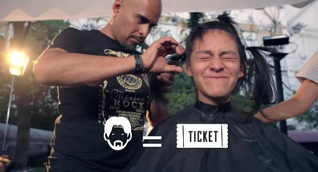 自慢の「ロン毛」が入場料に! がんと闘う子どもたちへ髪の毛を寄付することができるメタルフェス「HAIRFEST」が大成功