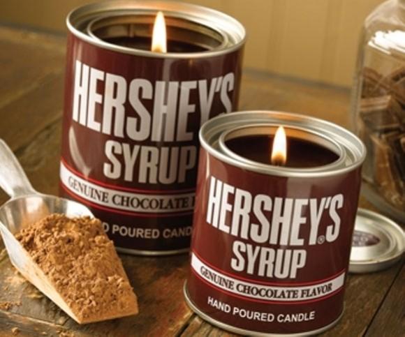 キャンドルになった!「HERSHEY'S(ハーシー)」チョコシロップの甘~い香り♪