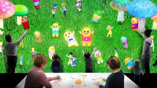 あなたが描いた絵がふなっしーと一緒に動く!? 日本科学未来館でコラボ企画「お絵かきふなっしー」が開催されているよ!