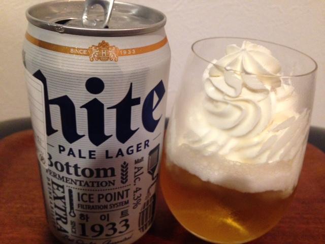 【検証】韓国で「生クリーム入りビール」が流行!? 実際にやってみた結果…!!