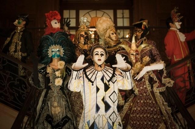 妖しく美しい非日常的世界を体感せよ! イタリア発仮面のお祭り「ヴェネツィア・カーニバル」がハウステンボスに出現
