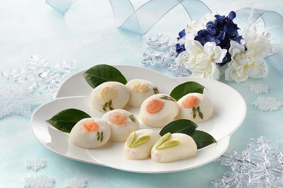 【期間限定】老舗かまぼこ店の「雪うさぎ」のかまぼこがとってもおいしそう♪ 山芋とメレンゲを使ったふわふわ食感です
