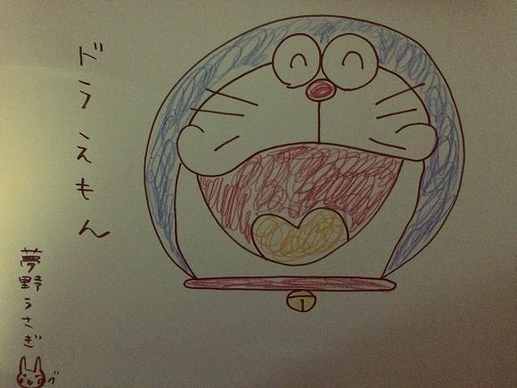 朝日新聞「しつもん!ドラえもん」のイラストが戦慄するレベルだと話題 / ドラミちゃんの頭部がハンニバル状態に…