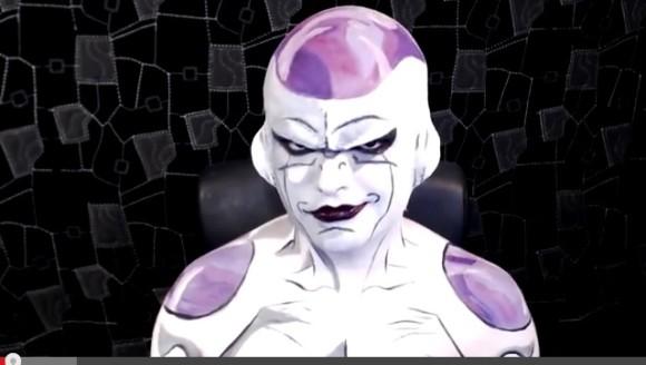 【これはスゴい】どう見てもアニメ! 超リアルな「フリーザ」に外国人が変身する動画